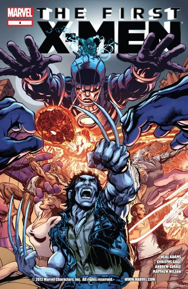 First X-Men #4 (of 5)
