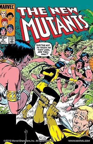 New Mutants (1983-1991) No.8