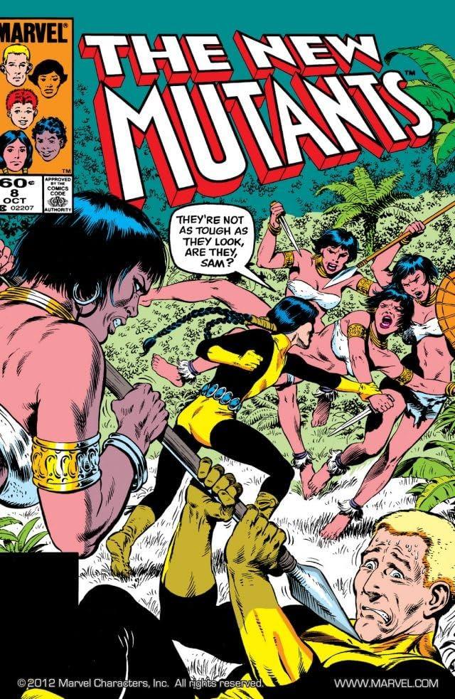 New Mutants (1983-1991) #8