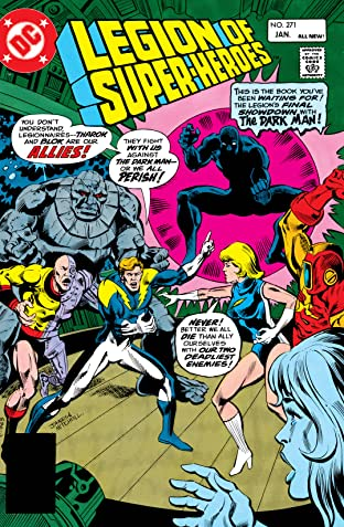 Legion of Super-Heroes (1980-1985) No.271
