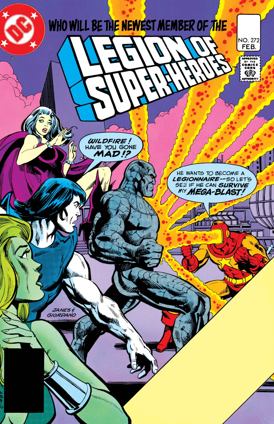 Legion of Super-Heroes (1980-1985) #272