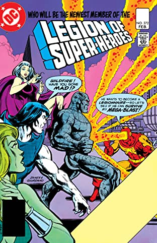 Legion of Super-Heroes (1980-1984) #272