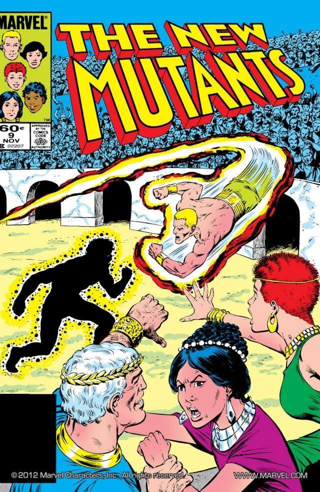 New Mutants (1983-1991) #9