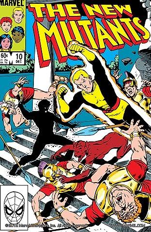 New Mutants (1983-1991) No.10