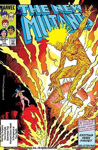New Mutants (1983-1991) #11