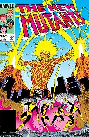 New Mutants (1983-1991) No.12