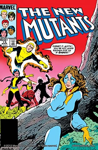 New Mutants (1983-1991) No.13