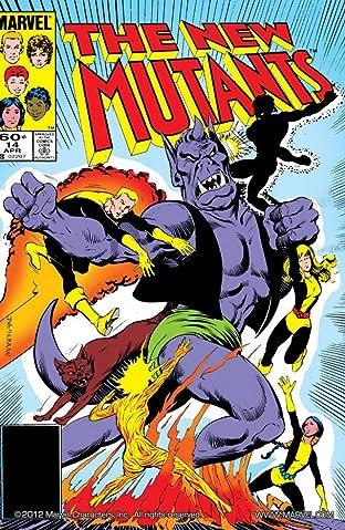 New Mutants (1983-1991) No.14