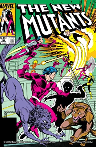 New Mutants (1983-1991) No.16