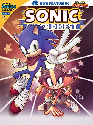Sonic Super Digest #16