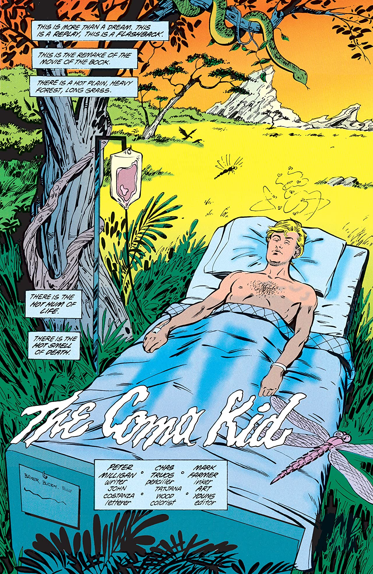 Animal Man (1988-1995) Vol. 4: Born to be Wild