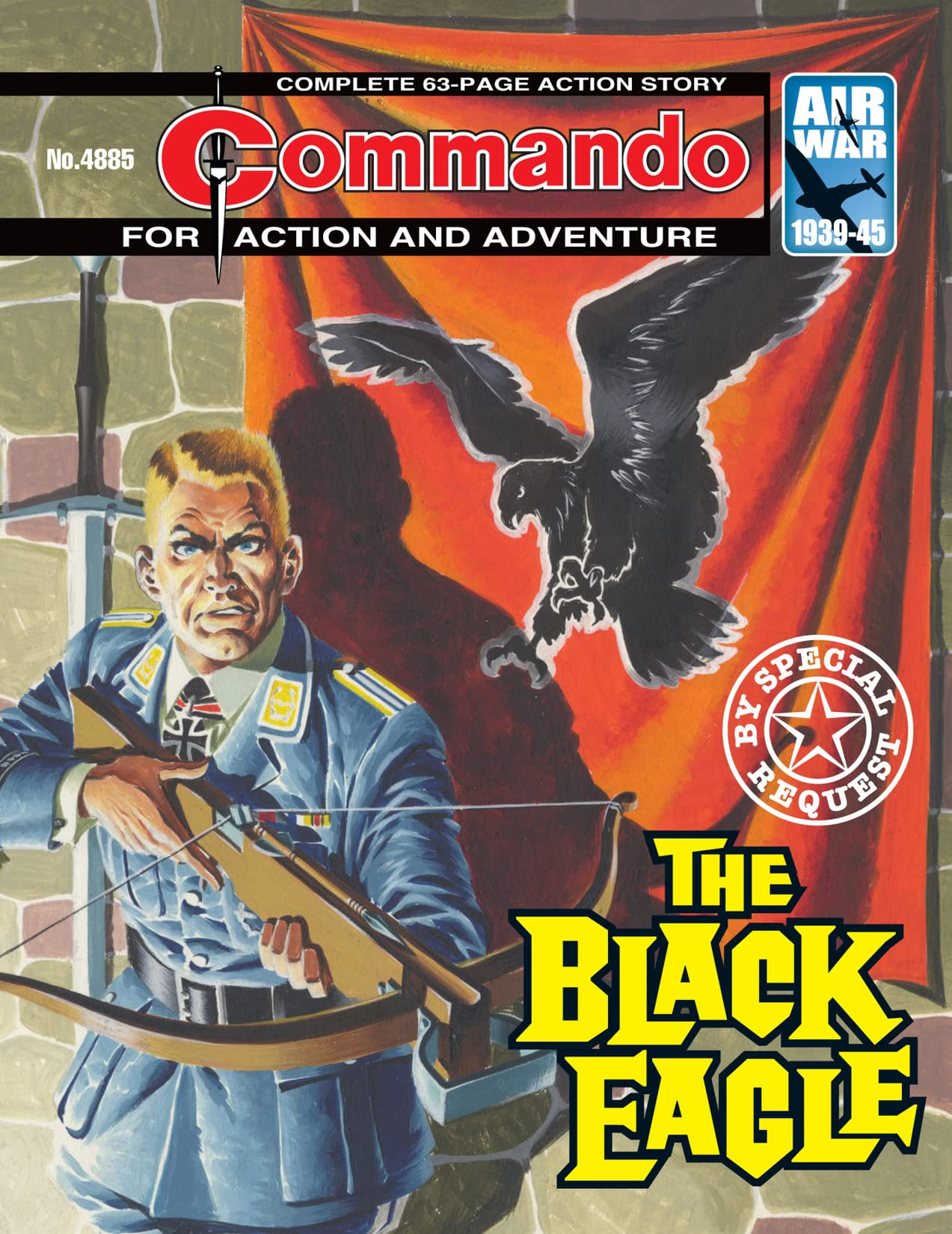Commando #4885: The Black Eagle