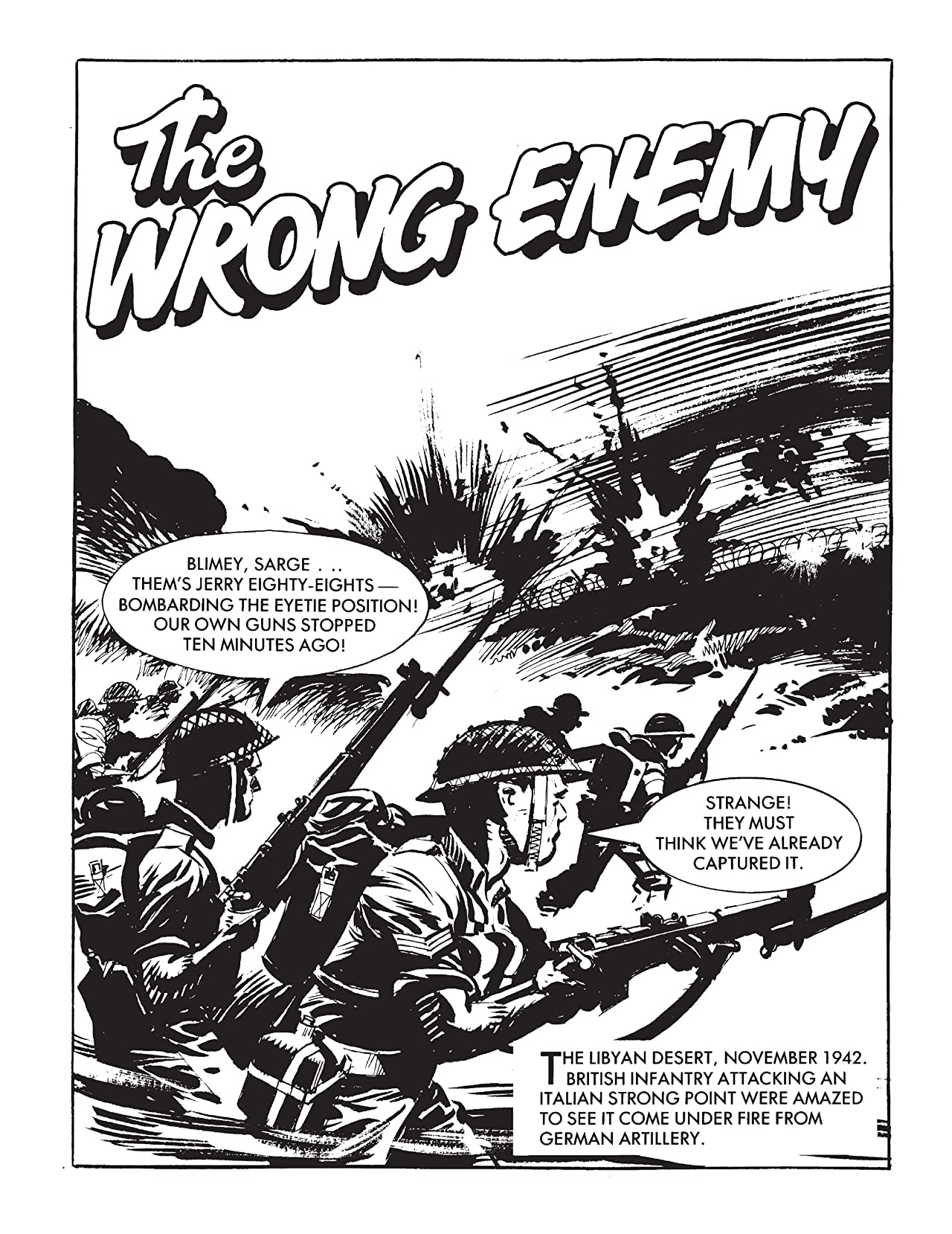 Commando #4886: The Wrong Enemy