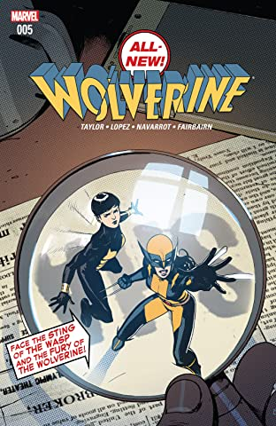 All-New Wolverine (2015-2018) No.5