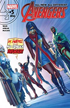 All-New, All-Different Avengers (2015-2016) No.5