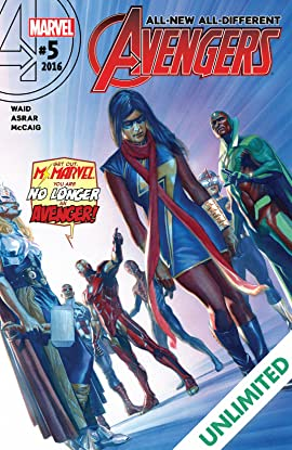 All-New, All-Different Avengers (2015-2016) #5