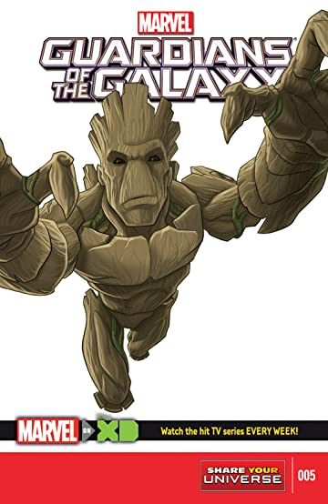 Marvel Universe Guardians of the Galaxy (2015-) #5