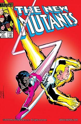 New Mutants (1983-1991) No.17