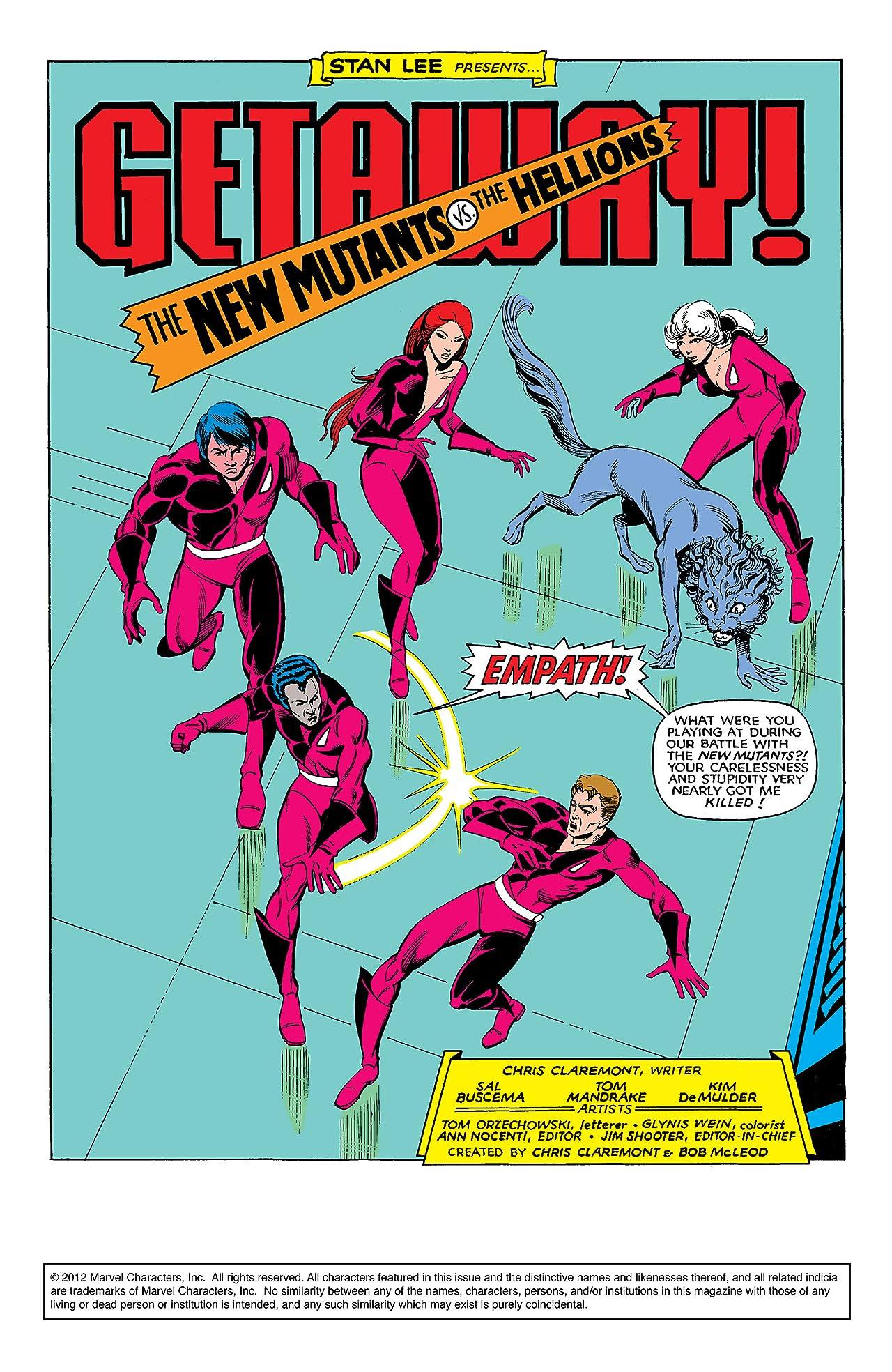 New Mutants (1983-1991) #17