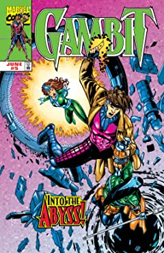 Gambit (1999-2001) #5