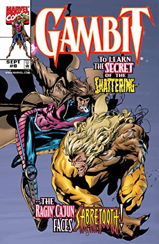 Gambit (1999-2001) No.8