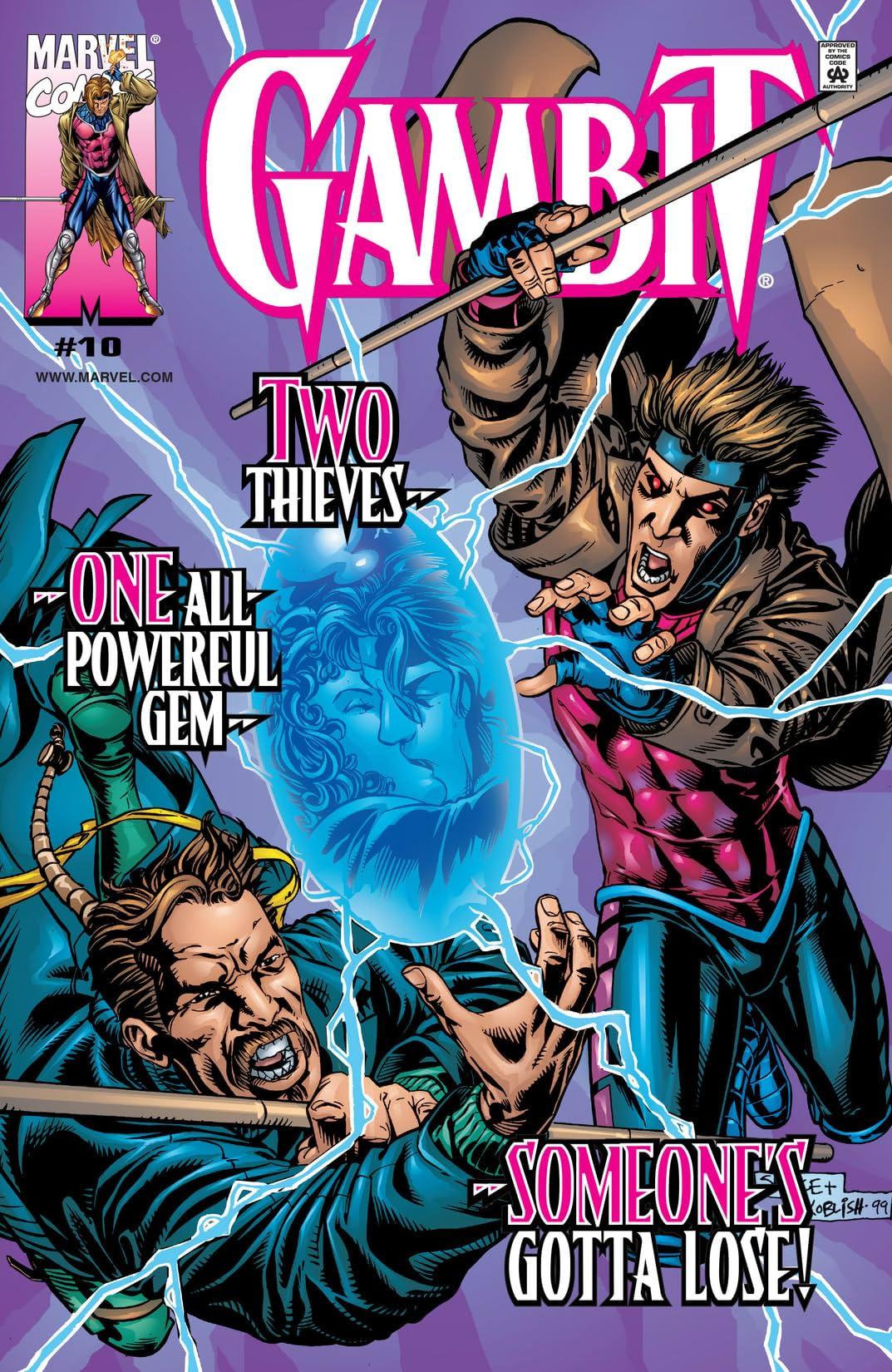 Gambit (1999-2001) #10