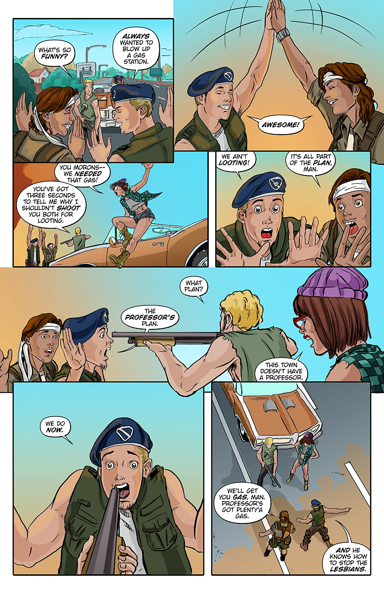 Lesbian Zombies from Outer Space #4