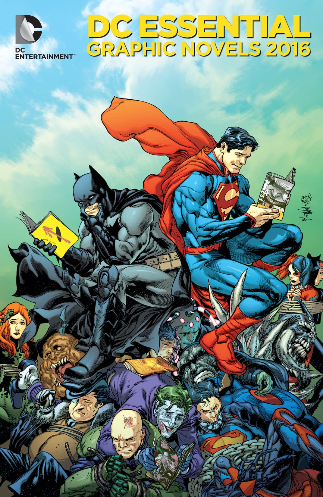 DC Entertainment Essentials Catalog 2016