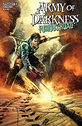 Army Of Darkness: Furious Road No.2 (sur 5): Digital Exclusive Edition