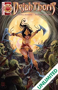 Dejah Thoris #3: Digital Exclusive Edition