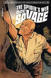 Doc Savage: The Spider's Web #5 (of 5): Digital Exclusive Edition