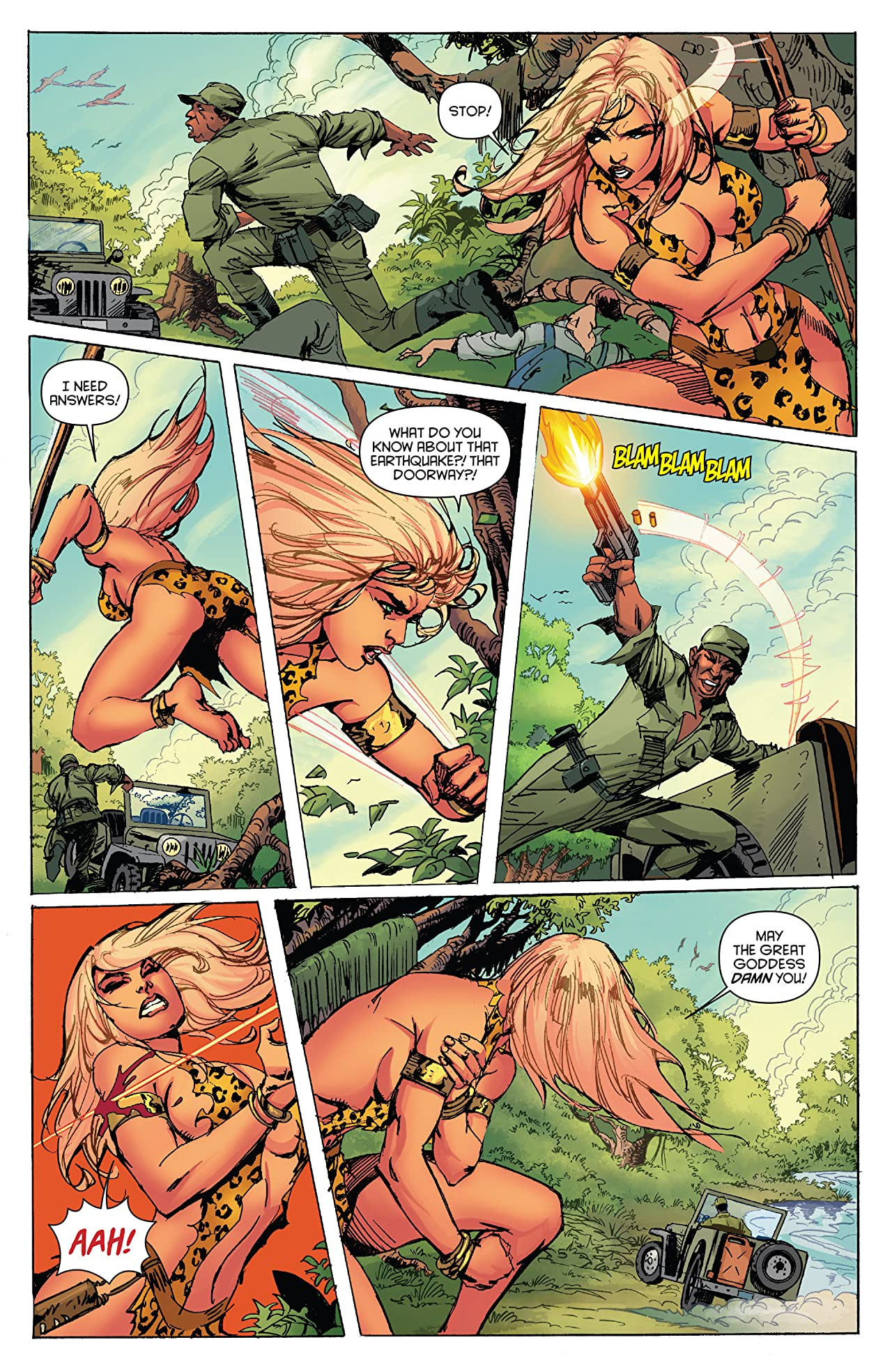 Lords Of The Jungle #2 (of 6): Digital Exclusive Edition