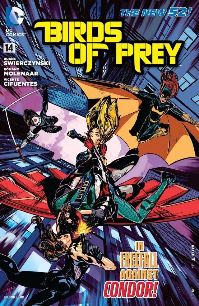 Birds Of Prey 2011 2014 14 Comics By Comixology