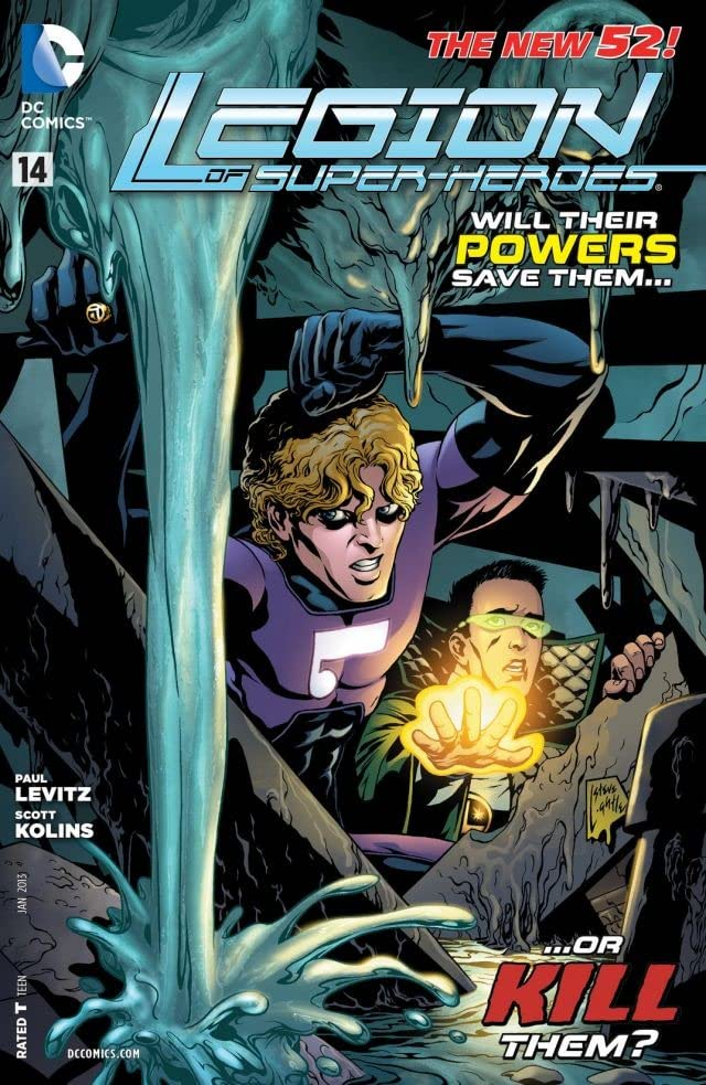 Legion of Super-Heroes (2011-2013) #14