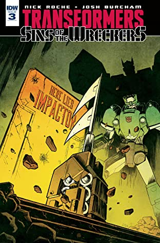 Transformers: Sins of the Wreckers #3 (of 5)