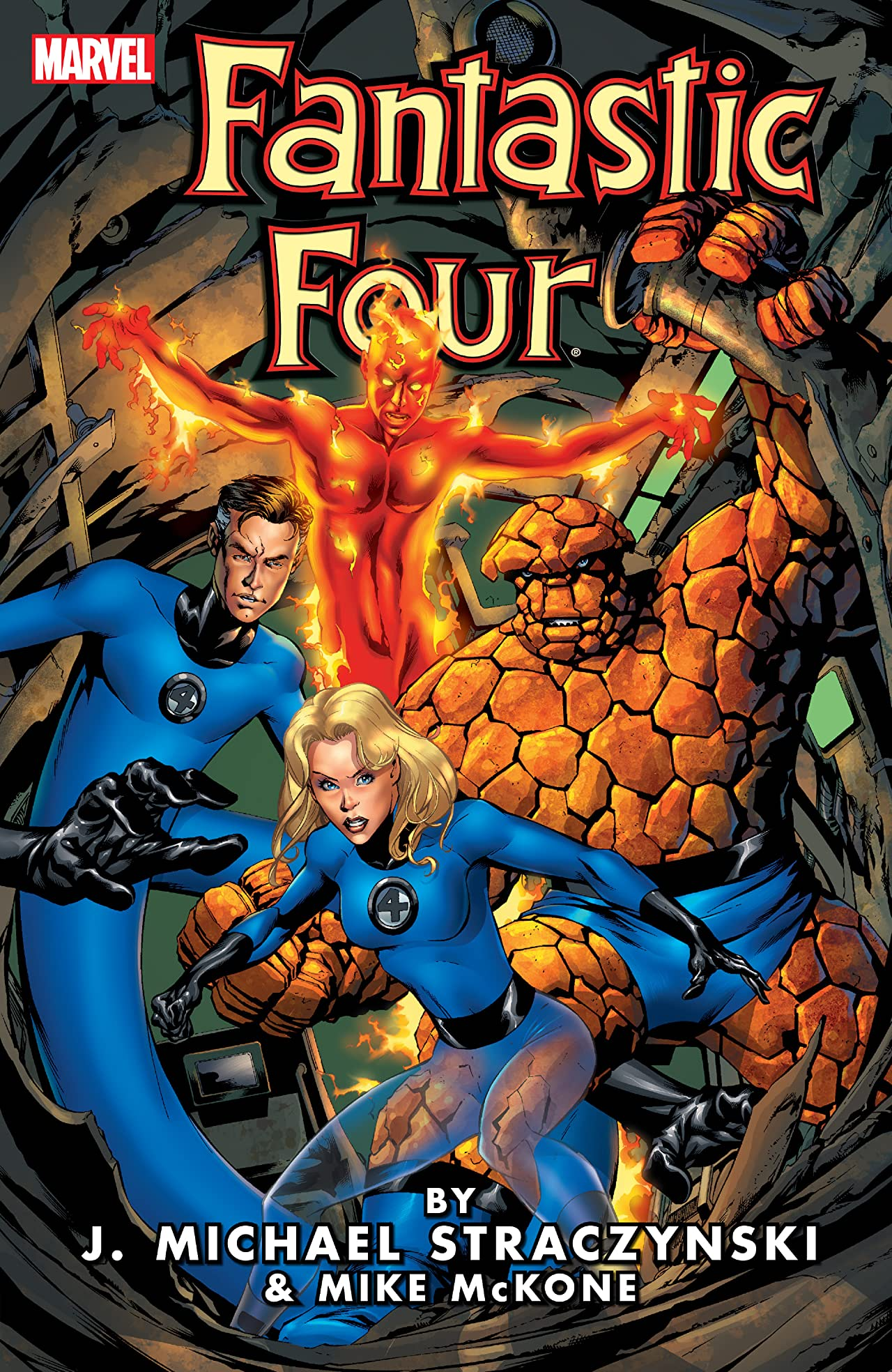 Fantastic Four by J. Michael Straczynski