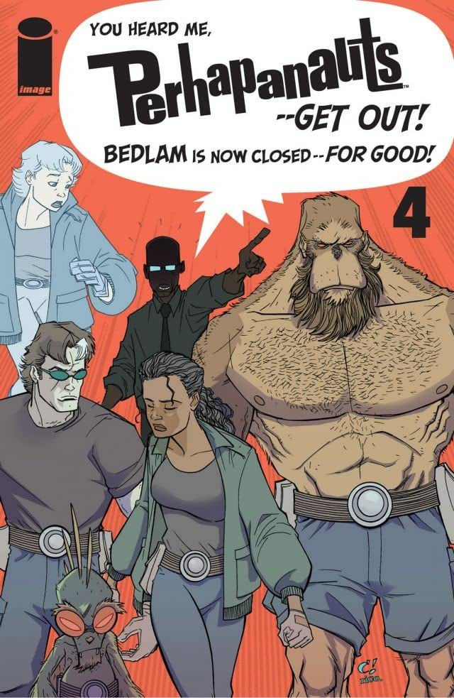 The Perhapanauts #4