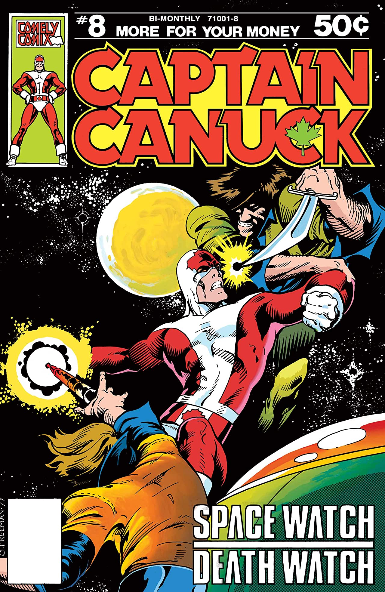 Captain Canuck - Original Series #8