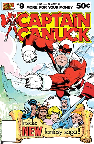 Captain Canuck - Original Series #9