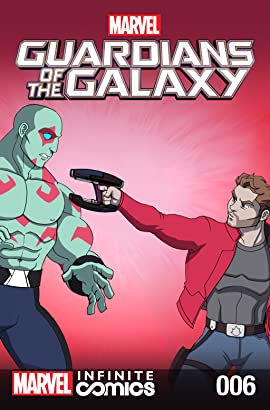 Marvel Universe Guardians of the Galaxy Infinite Comic #6