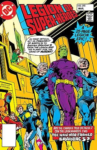 Legion of Super-Heroes (1980-1984) #273