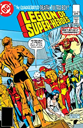 Legion of Super-Heroes (1980-1985) #274
