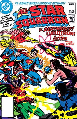 All-Star Squadron (1981-1987) #22