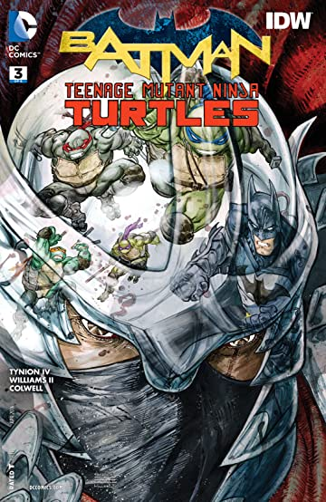 Batman/Teenage Mutant Ninja Turtles (2015-2016) #3