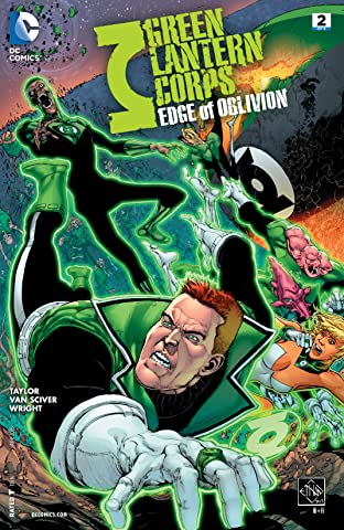 Green Lantern Corps: Edge of Oblivion (2016) #2