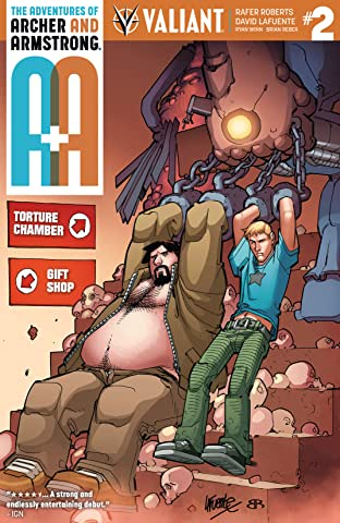 A&A: The Adventures of Archer & Armstrong #2: Digital Exclusives Edition