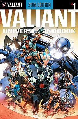 Valiant Universe Handbook: 2016 Edition #1: Digital Exclusives Edition