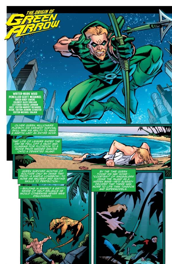 The Origin of Green Arrow