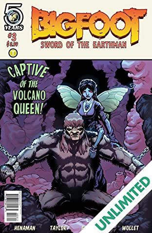 Bigfoot: Sword of the Earthman #3