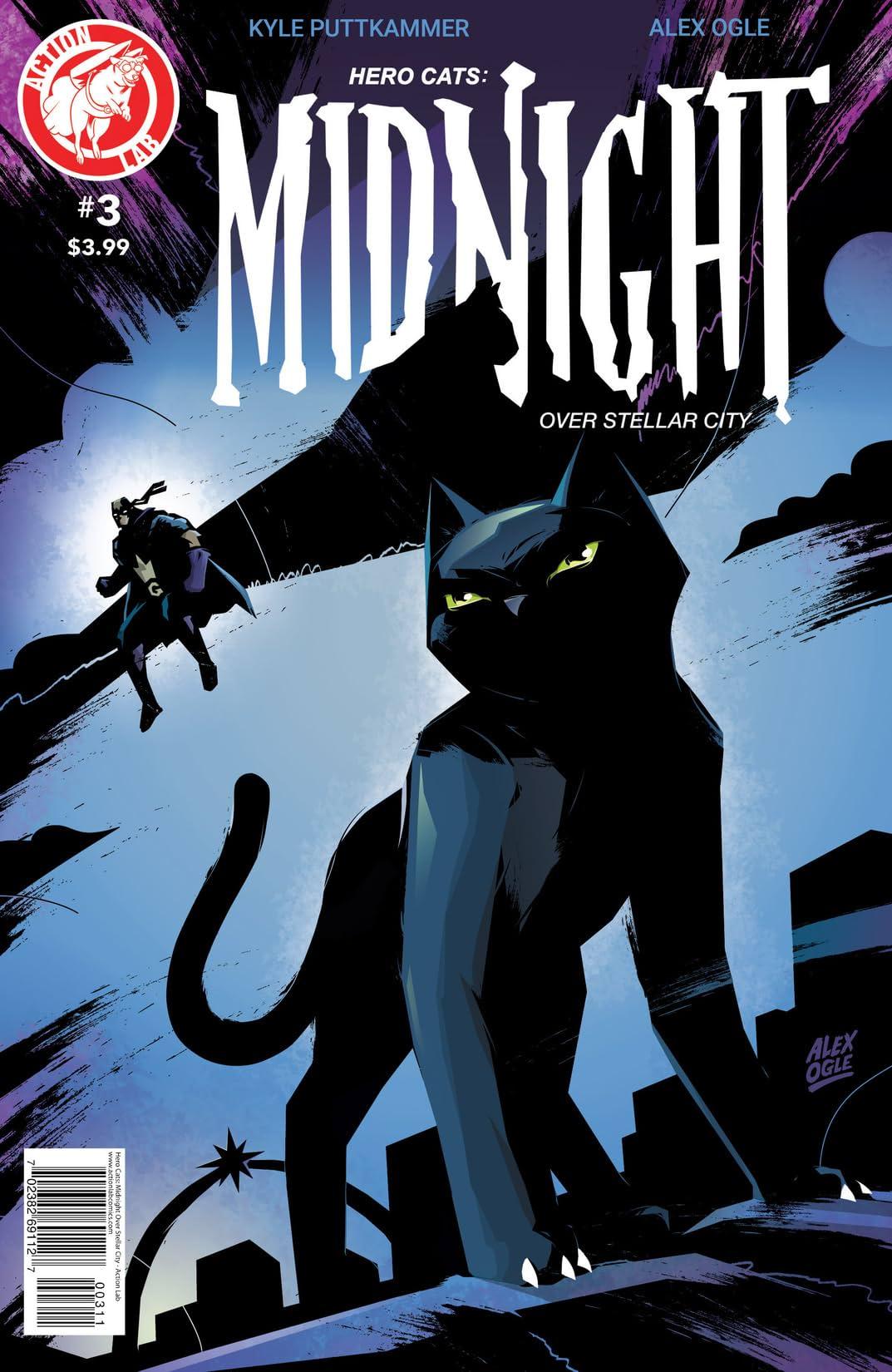 Hero Cats: Midnight Over Stellar City #3